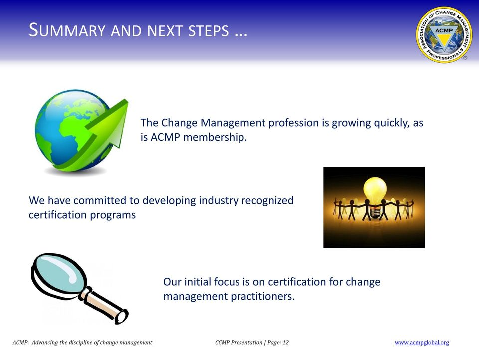 Certified Change Management Professional Ccmp Pdf