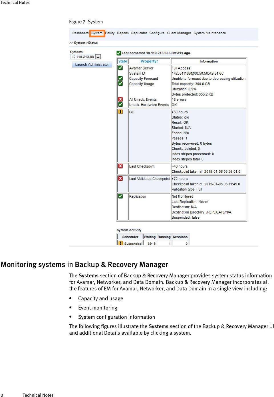 Backup & Recovery Manager incorporates all the features of EM for Avamar,  Networker, and