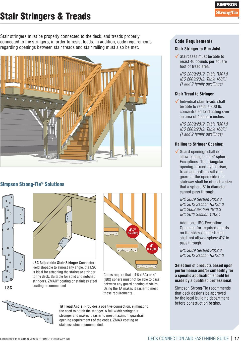 Deck Connection and Fastening Guide - PDF