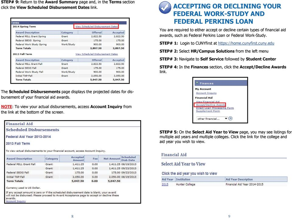 For More Information  Office of Financial Aid  GUIDE TO