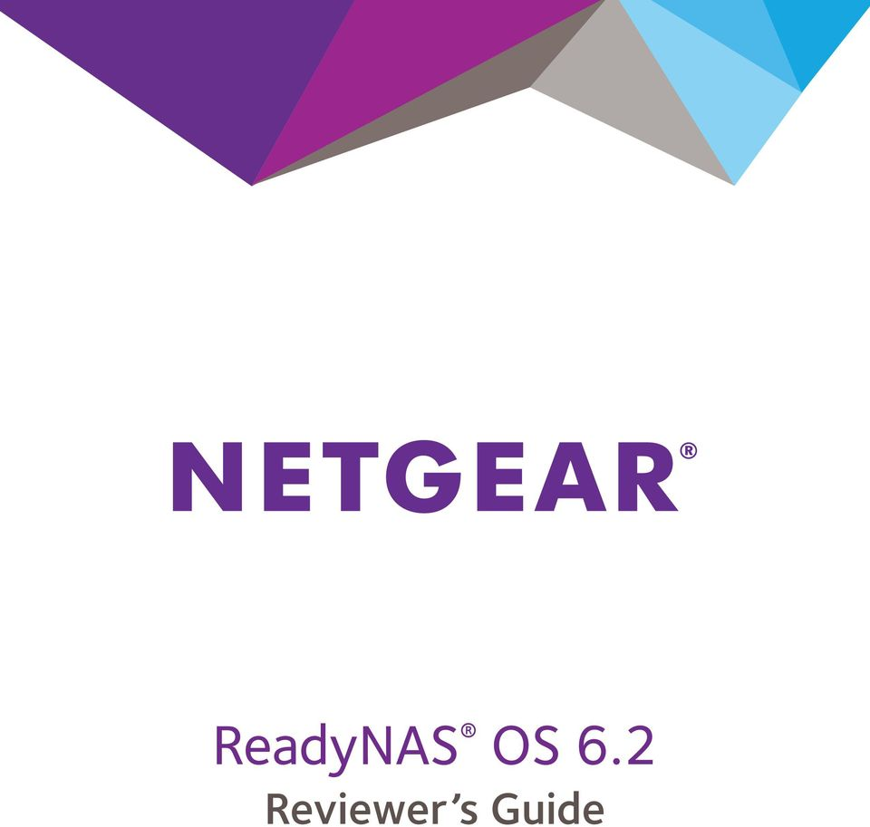 ReadyNAS OS 6 2  Reviewer s Guide - PDF Free Download