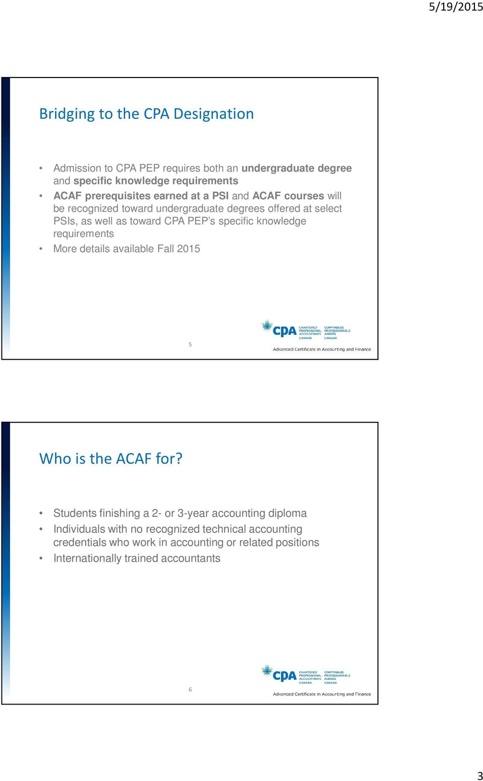 What Is The Advanced Certificate In Accounting And Finance Pdf