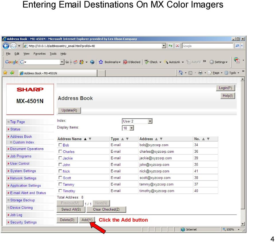 MX Color Imagers