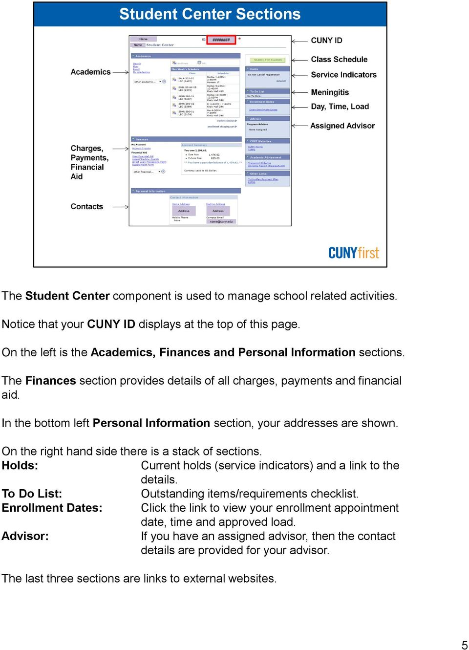 welcome to self service for students! - pdf
