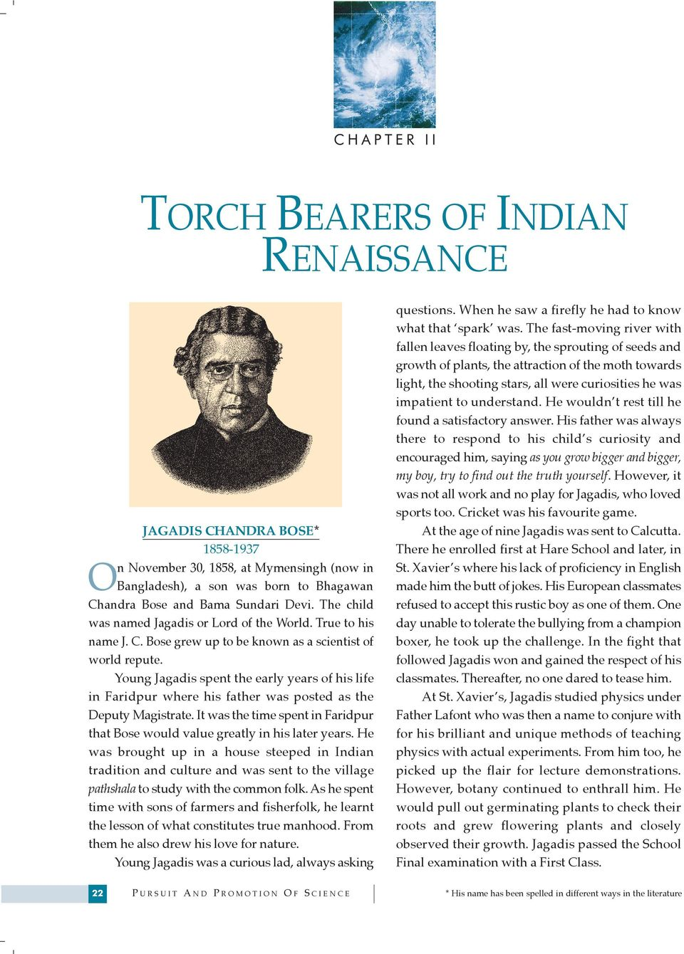 THE TORCH BEARERS OF INDIAN RENAISSANCE - PDF