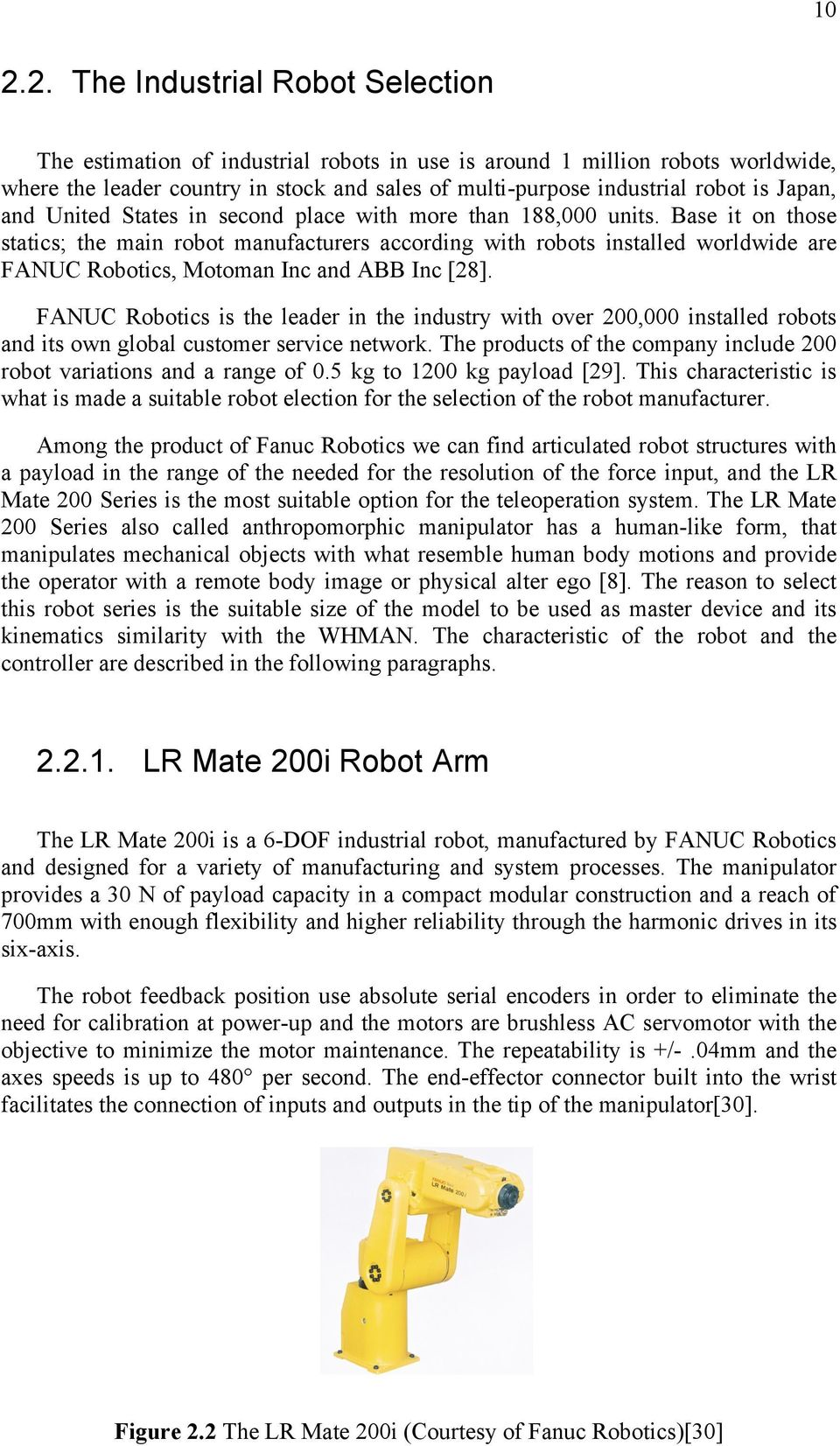 Fanuc Robot Setting Home Position