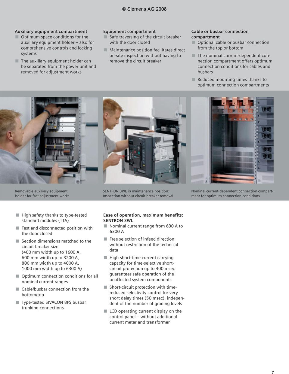 The Low Voltage Switchboard That Sets New Standards Pdf Circuit Breakers In Off Position Without Locking Out An Entire Having To Remove Breaker Cable Or Busbar Connection Compartment Optional