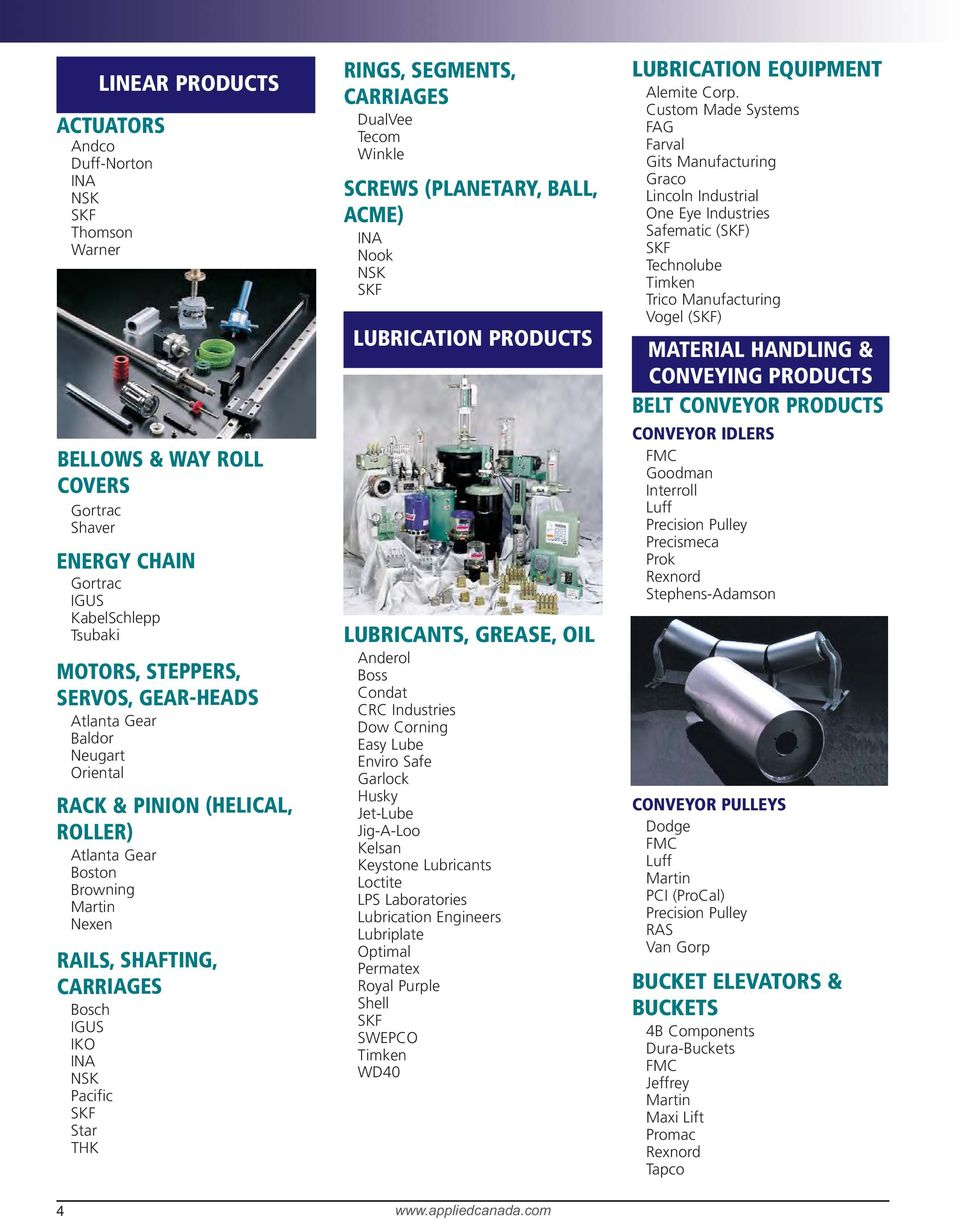 Applied Industrial Technologies  Products & Services Guide - PDF
