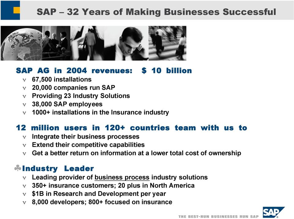SAP For Insurance A focus on Billing and Collections  Robert