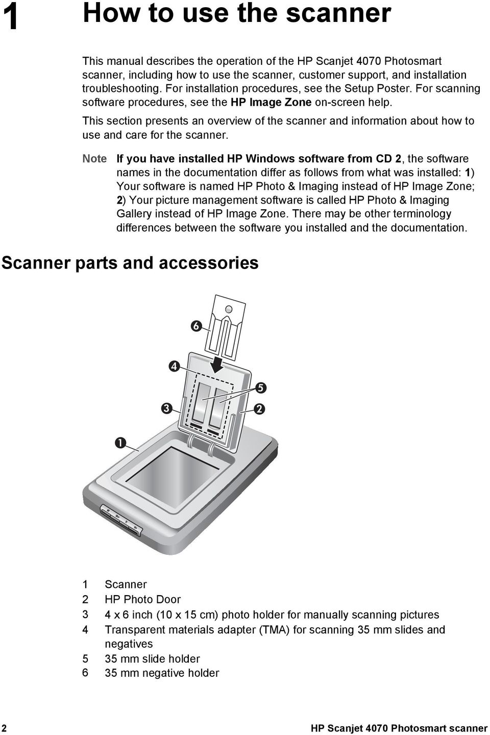 HP Scanjet 4070 Photosmart scanner - PDF