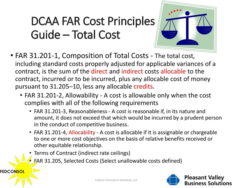 FAR UPDATE , Allowable Cost and Payment (Jun 2013) - PDF