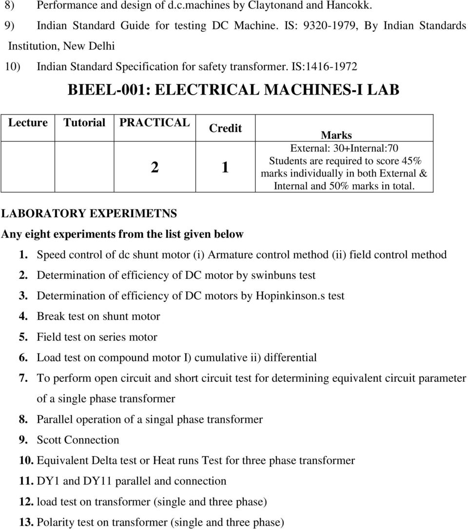 Indira Gandhi National Open University School Of Engineering And Statics Free Body Diagram Examples Estic Merian 6thchapter 3 Is1416 1972 Bieel 001 Electrical Machines I Lab Lecture Tutorial