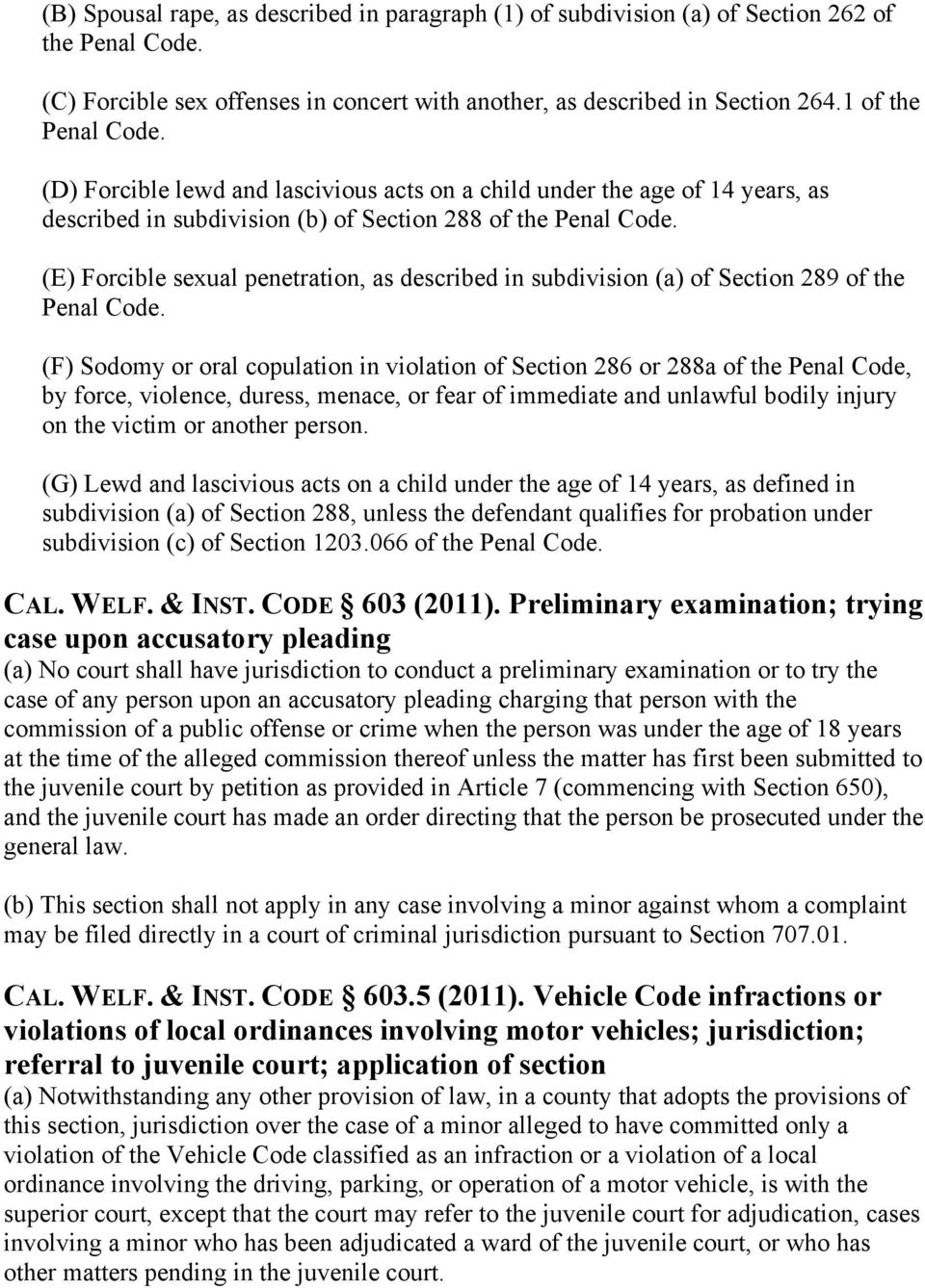 penal code section 288