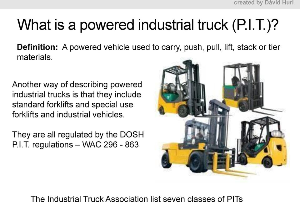 Forklift Stability Material Handing And Robotics I Practical