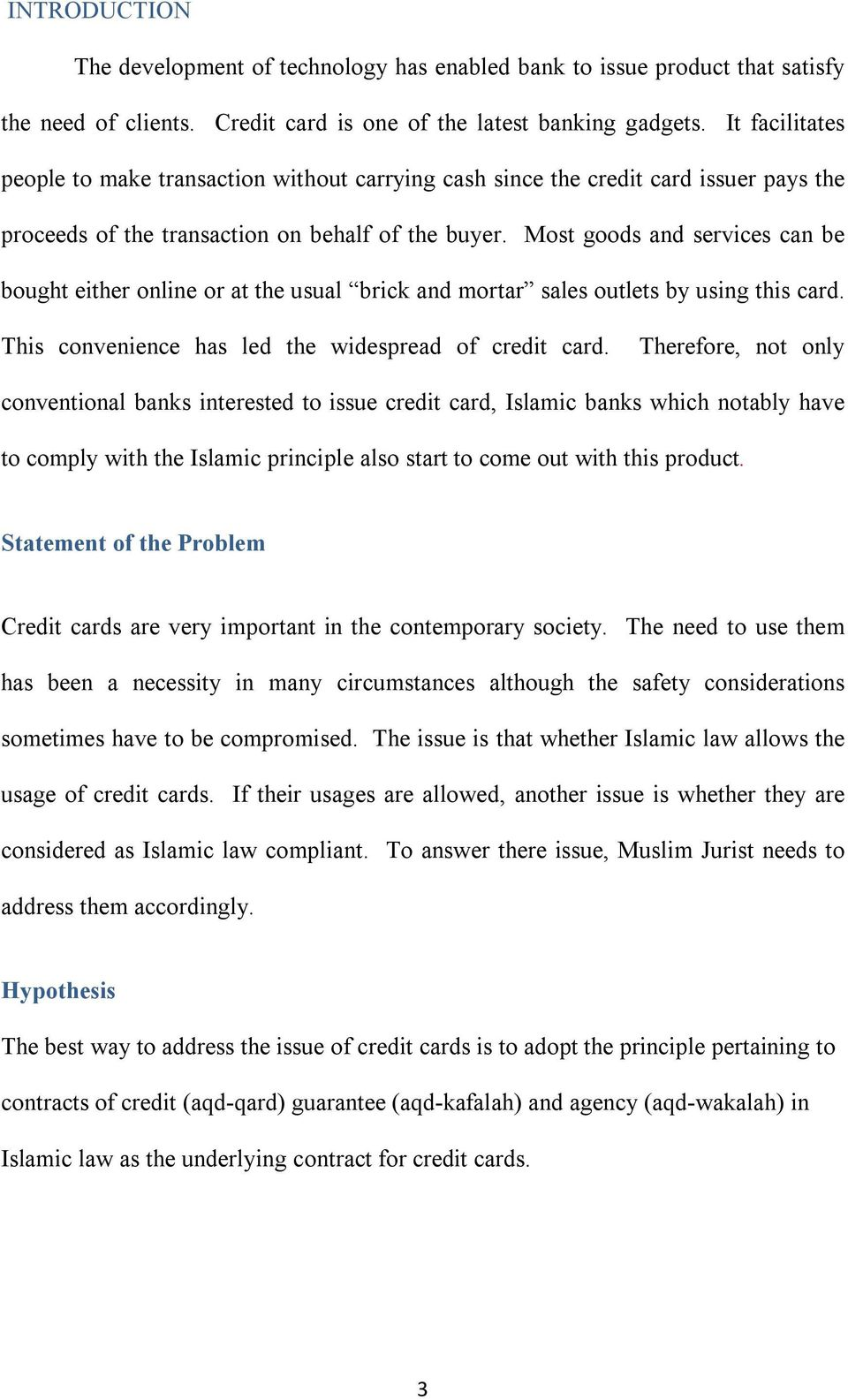 CREDIT CARDS FROM SHAIRIAH PERSPECTIVE - PDF