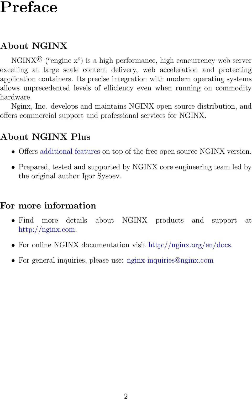 Nginx, Inc  Modules reference  NGINX Plus - release 3, based on core