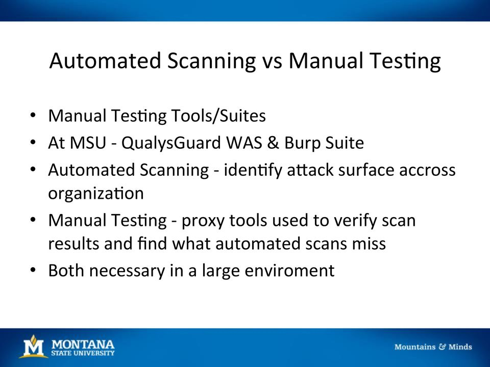 Adding Value to Automated Web Scans  Burp Suite and Beyond - PDF