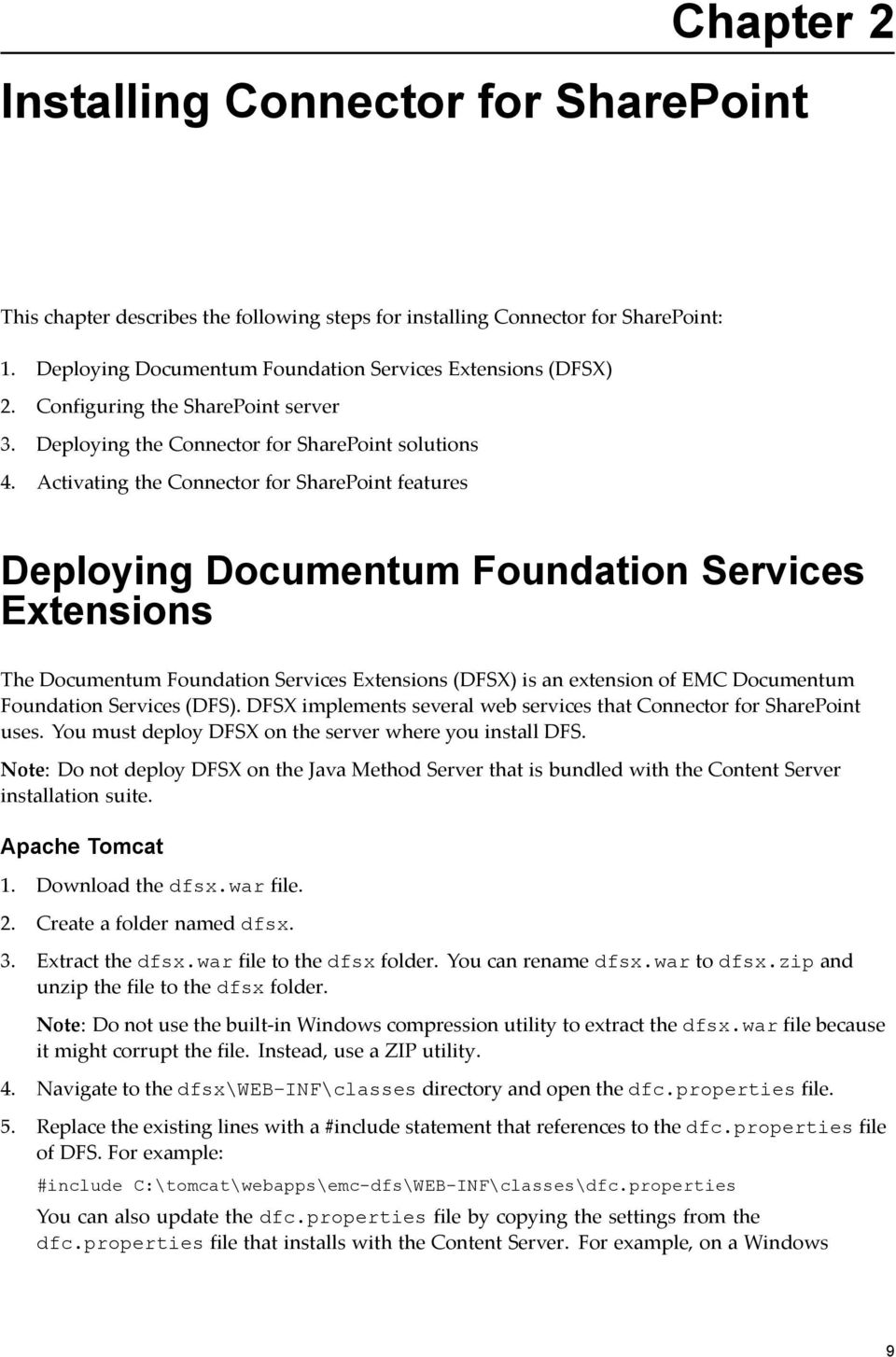 EMC Documentum Connector for Microsoft SharePoint - PDF