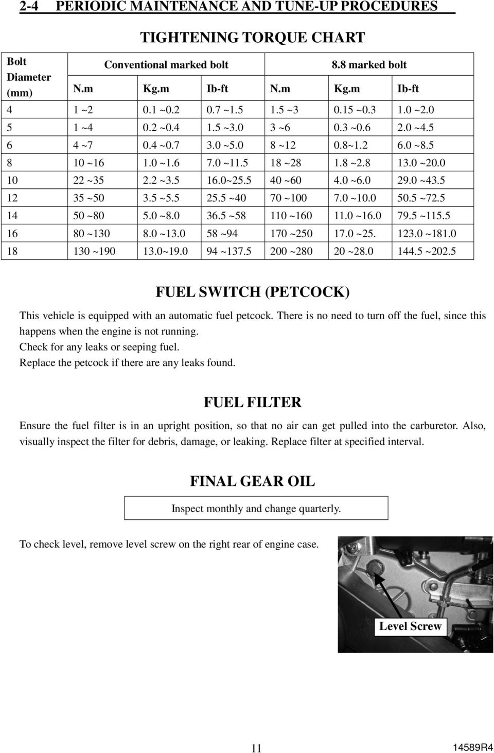 Service Manual 150cc Product 6150 7150 200 Series Pdf Eclipse Fuel Filter Location 5 40 60 290 435 12 35 50