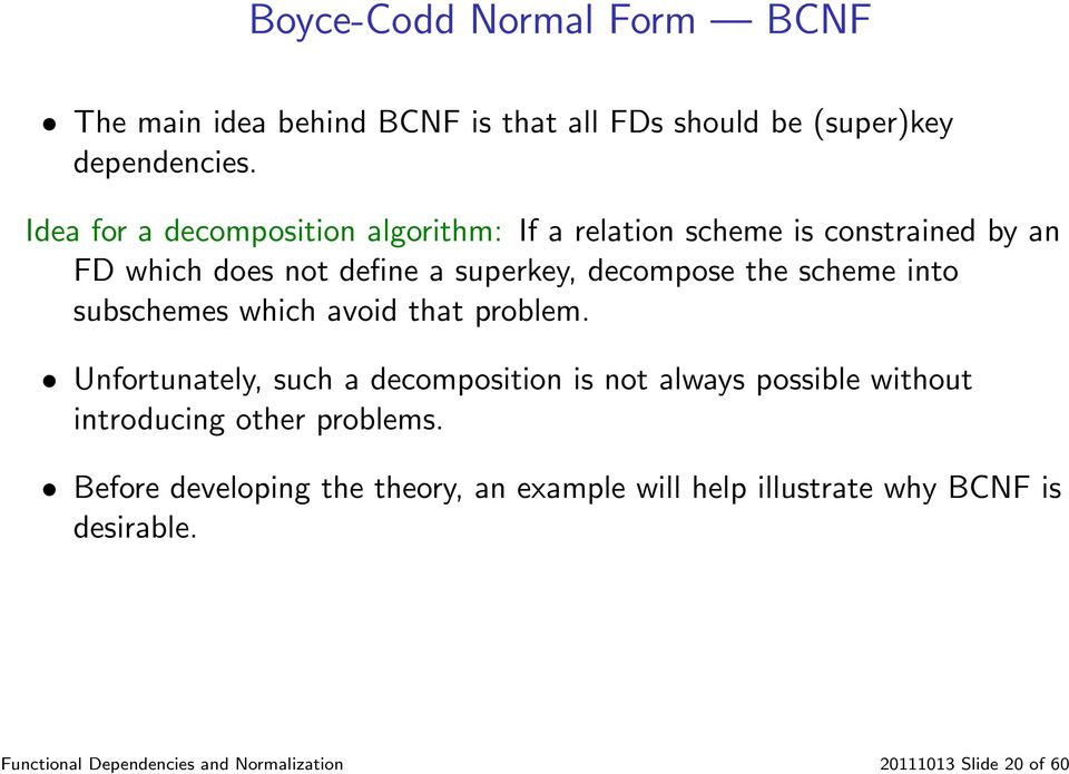 functional dependencies and normalization pdf