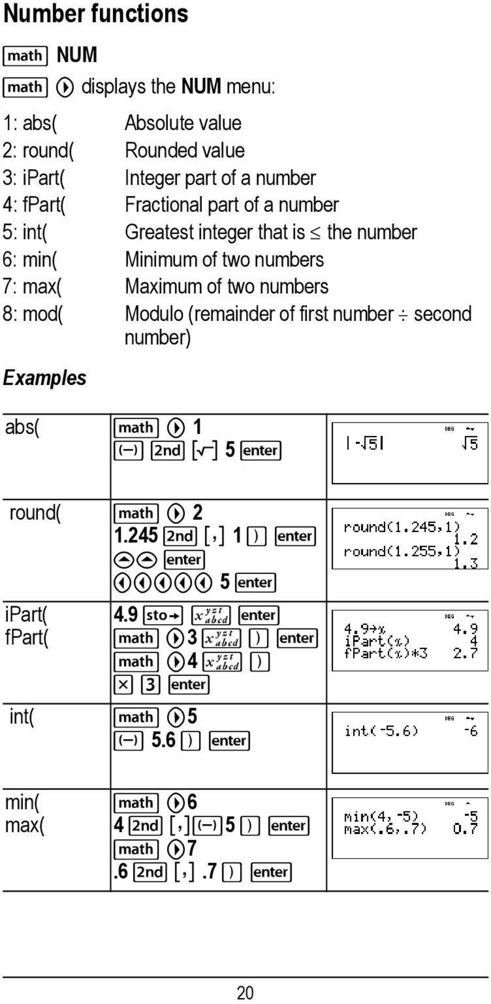 TI-36X Pro Calculator - PDF