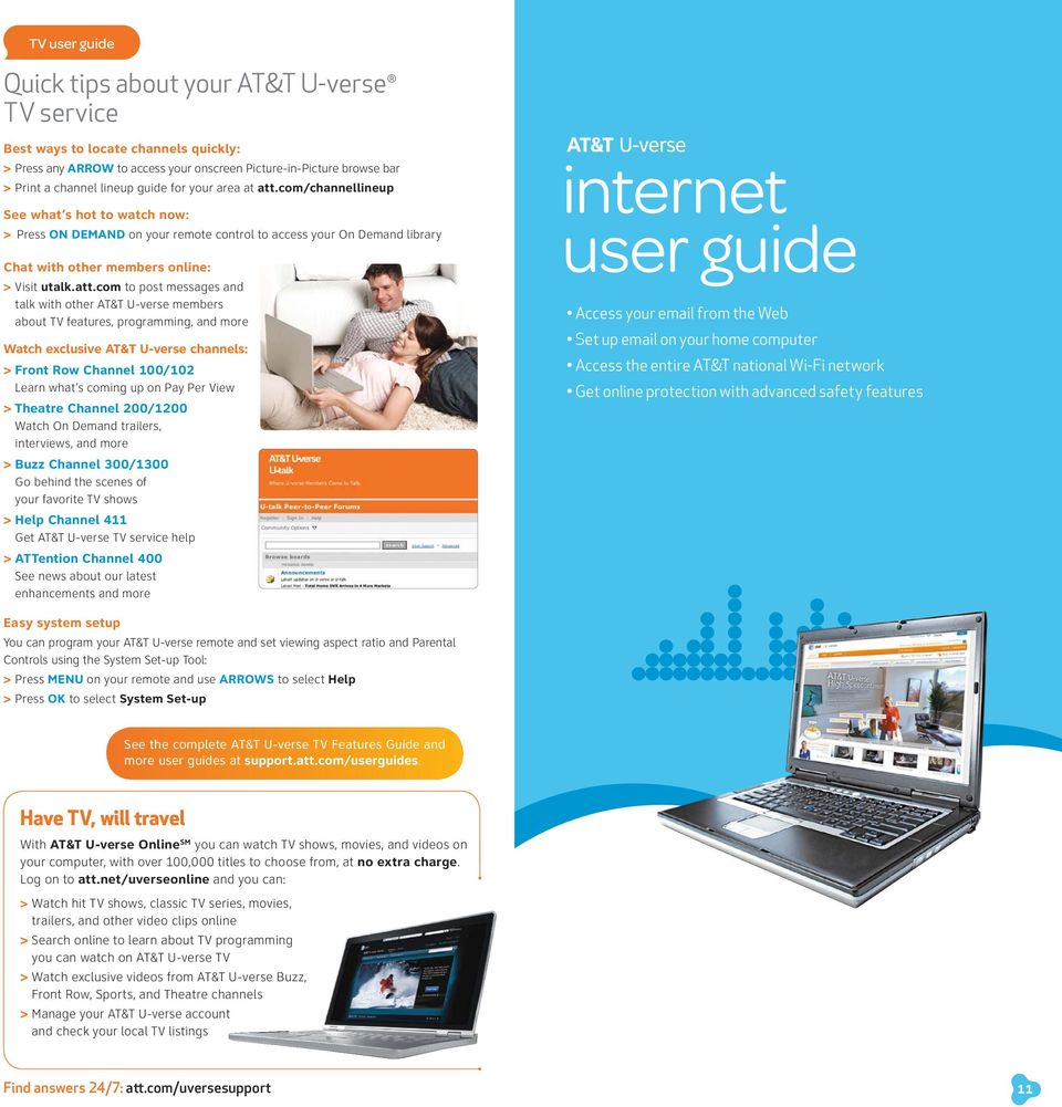 starter guide Easy steps for getting the most from your AT&T