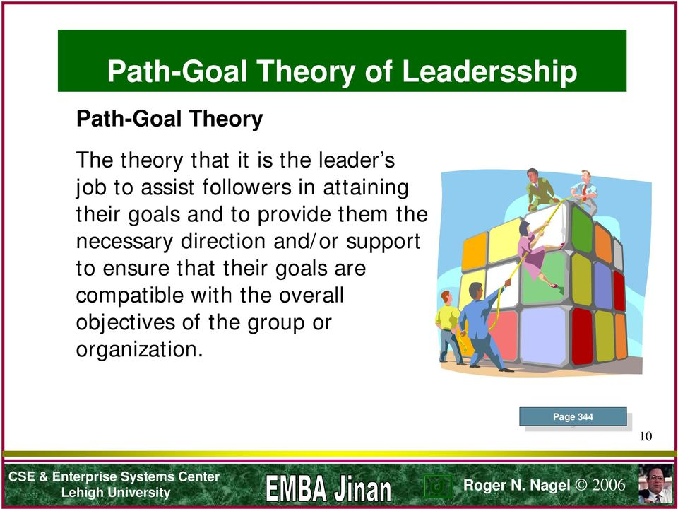 what is path goal theory