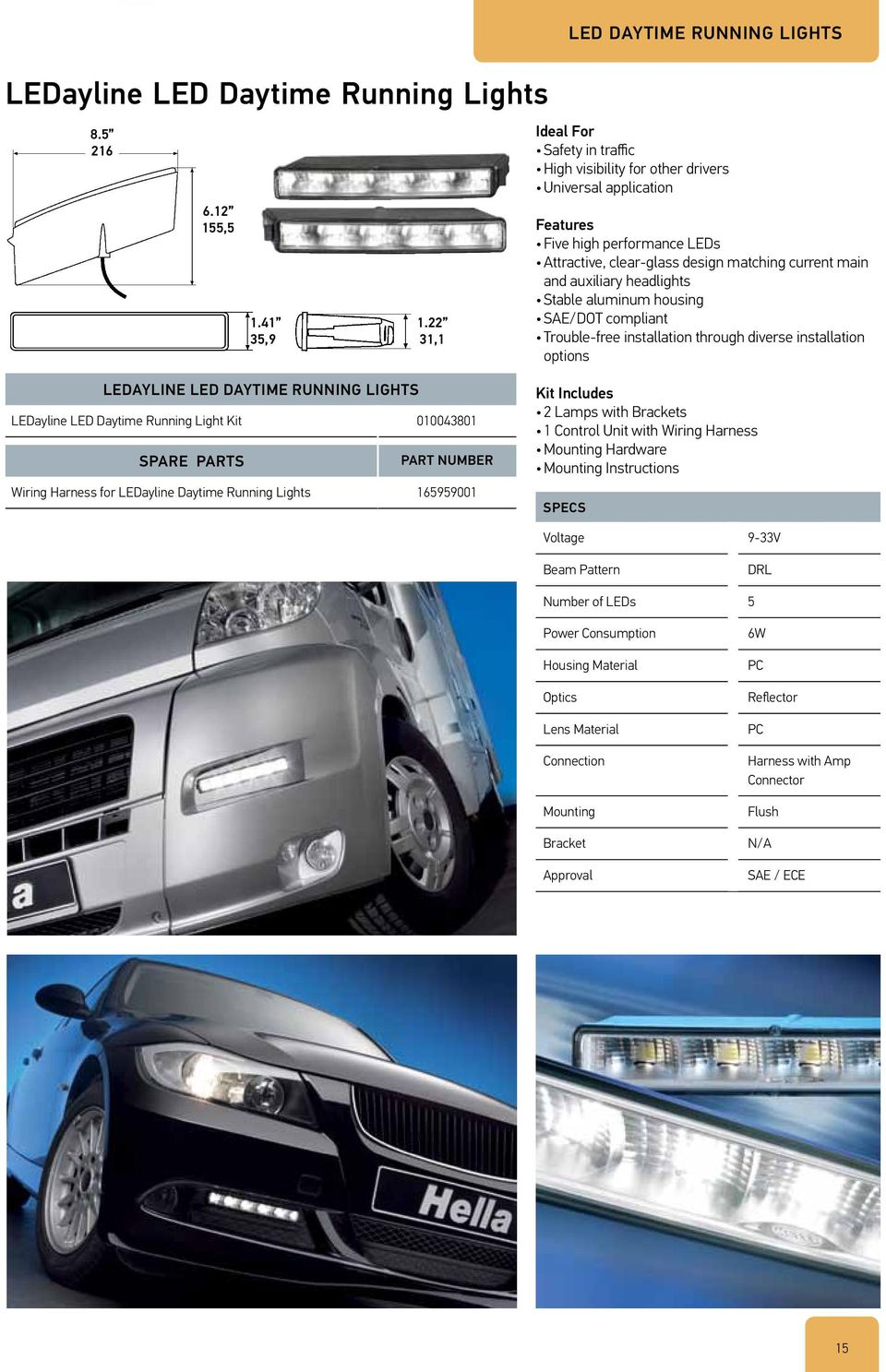 Pdf Daytime Running Lights Wiring Kit Current Main And Auxiliary Headlights Stable Aluminum Housing Sae Dot Compliant Trouble Free Installation