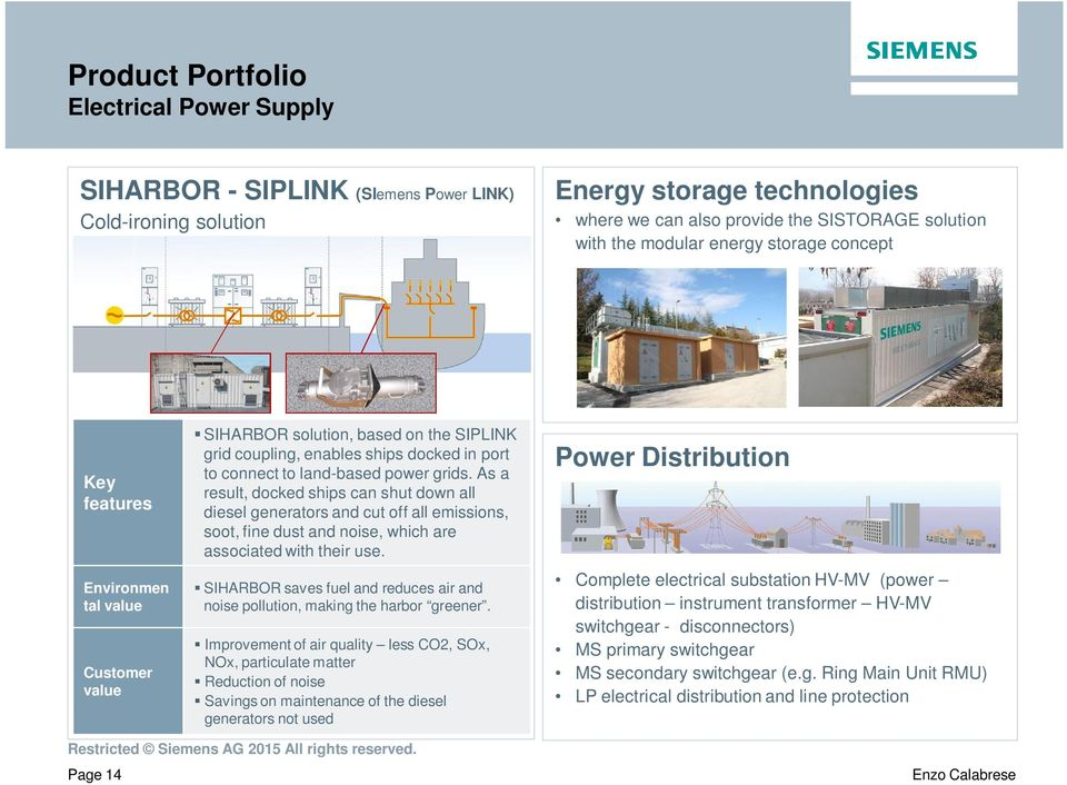 Siemens solutions for Green Harbours of the Future - PDF