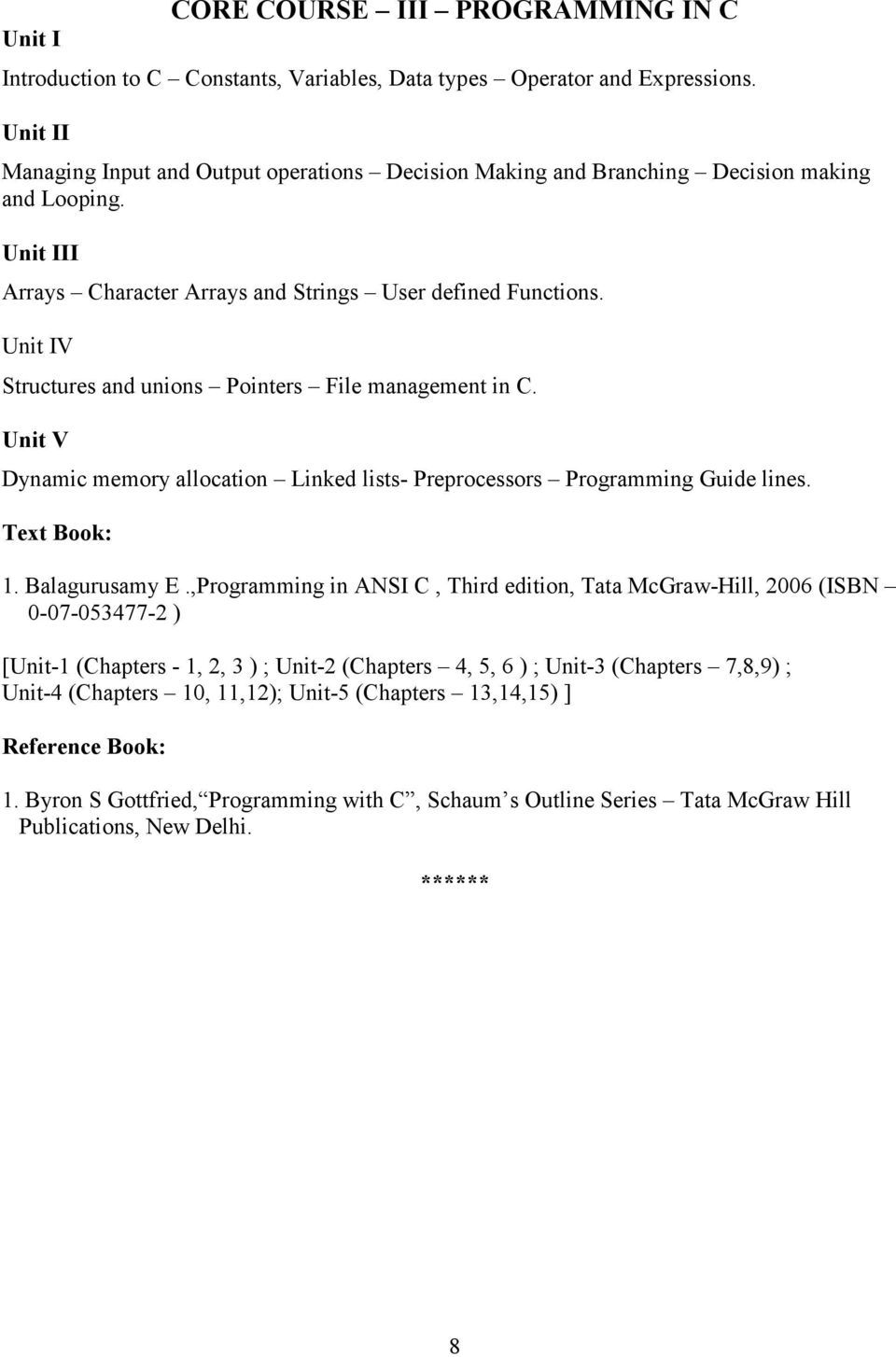 Byron S Gottfried Programming With C Pdf
