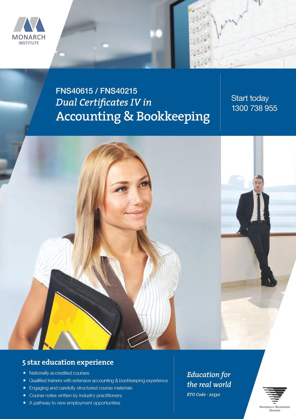 bookkeeping experience Engaging and carefully structured course materials Course notes written by