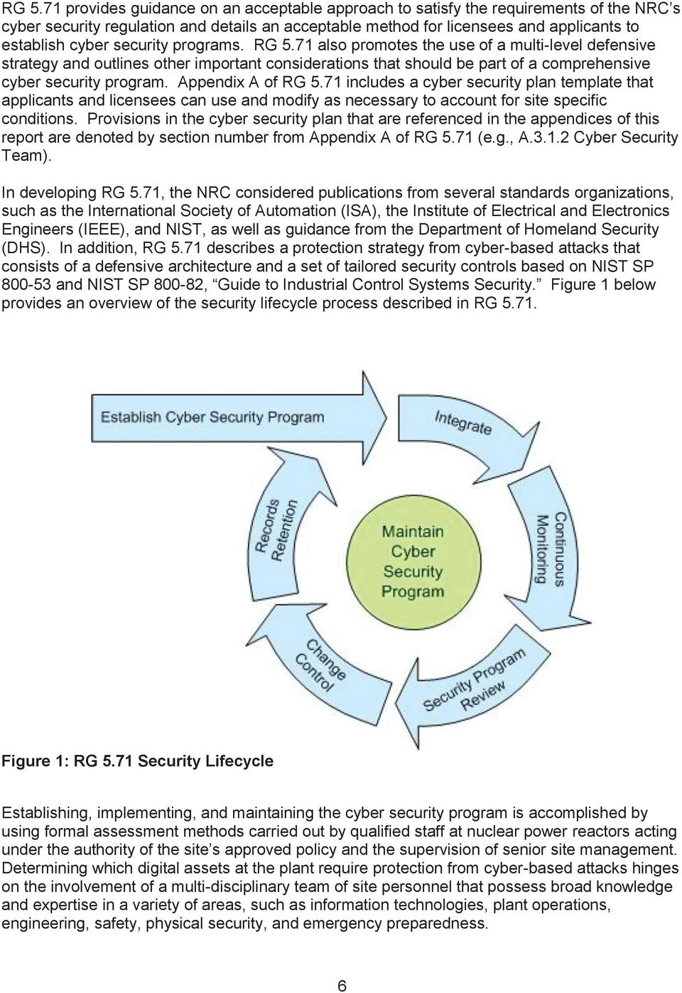The U S Nuclear Regulatory Commission S Cyber Security