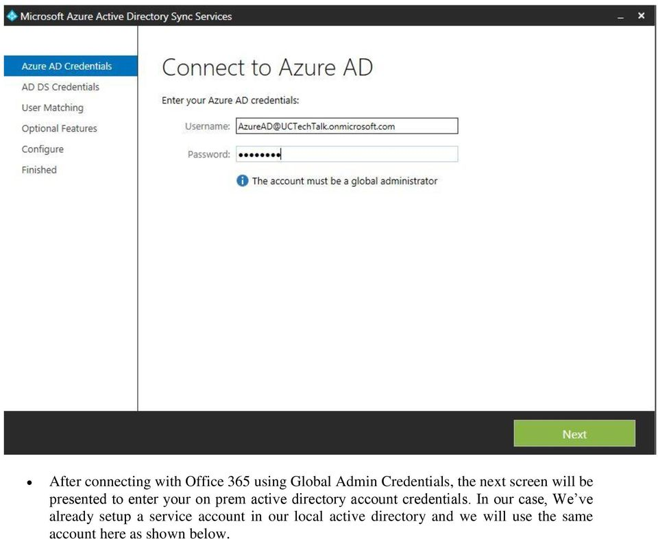 Table of Contents Introduction    2 Azure ADSync