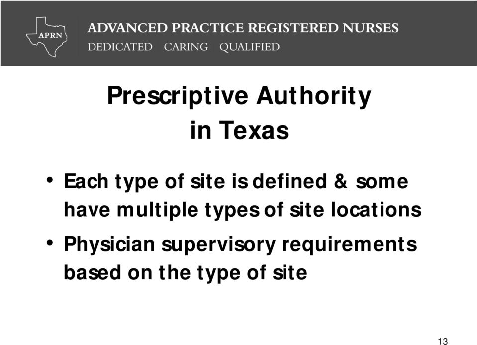 types of site locations Physician
