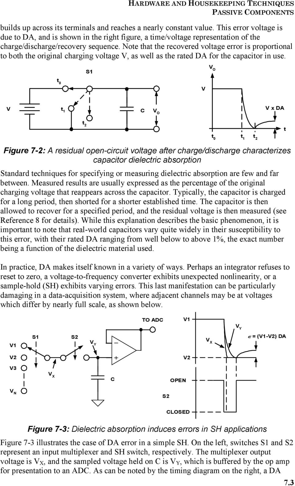 Hardware And Housekeeping Techniques Pdf Circuit Power Supply Regulator 15v 1a By Ic 7815 7915 Hd Walls Note That The Recovered Voltage Error Is Proportional To Both Original Charging V