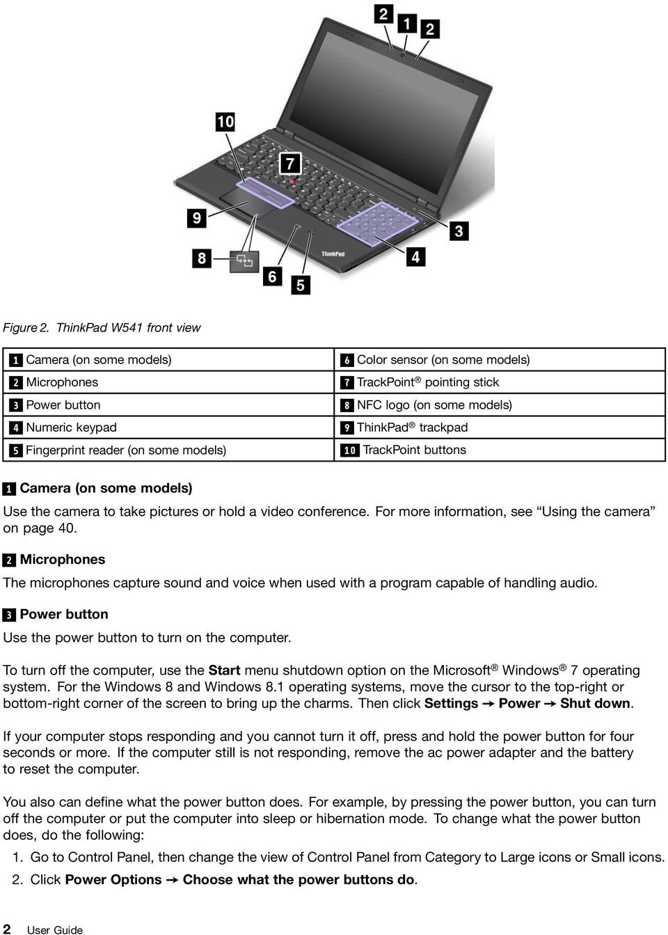 User Guide  ThinkPad T540p, W540, and W541 - PDF