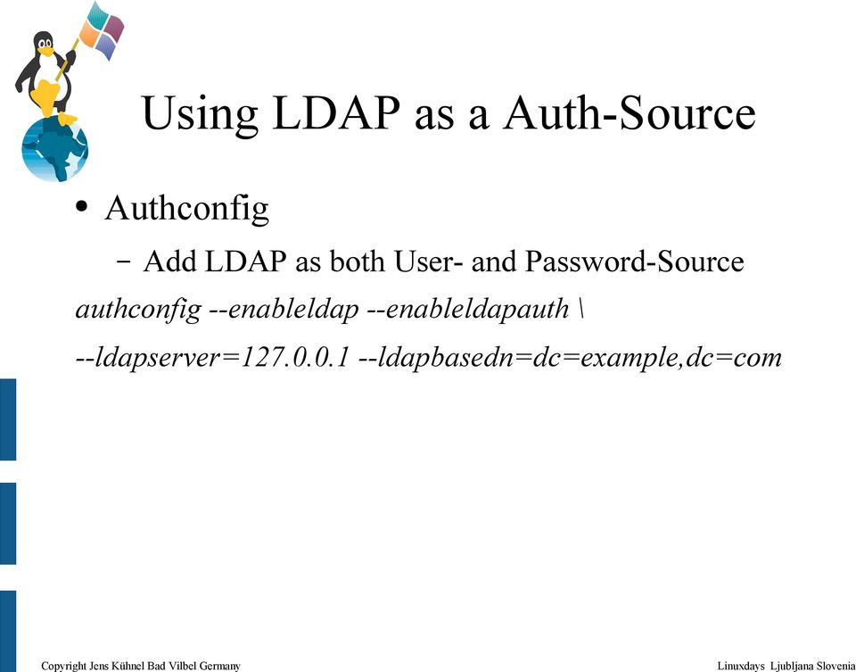 Samba and LDAP in 30 Minutes - PDF