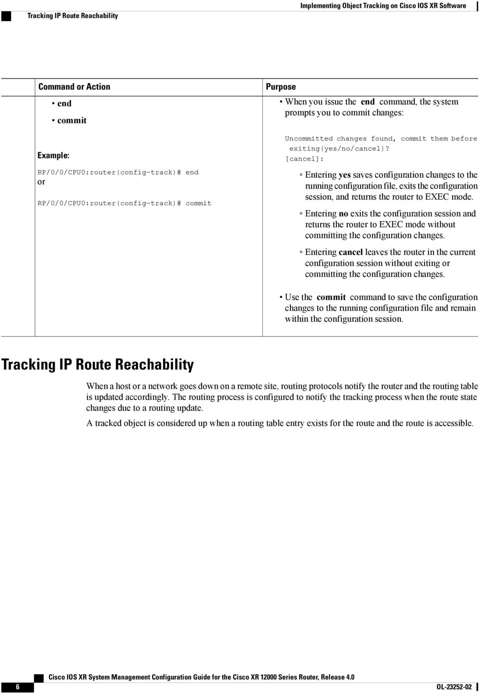 Implementing Object Tracking on Cisco IOS XR Software - PDF