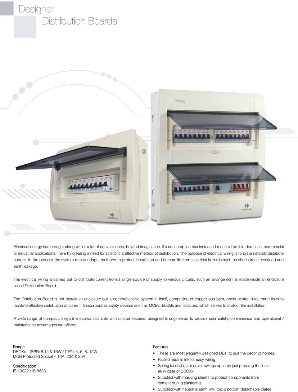 Building Circuit Protection Pdf Enclosure Wiring Methods The Purpose Of Electrical Is To Systematically Distribute Current