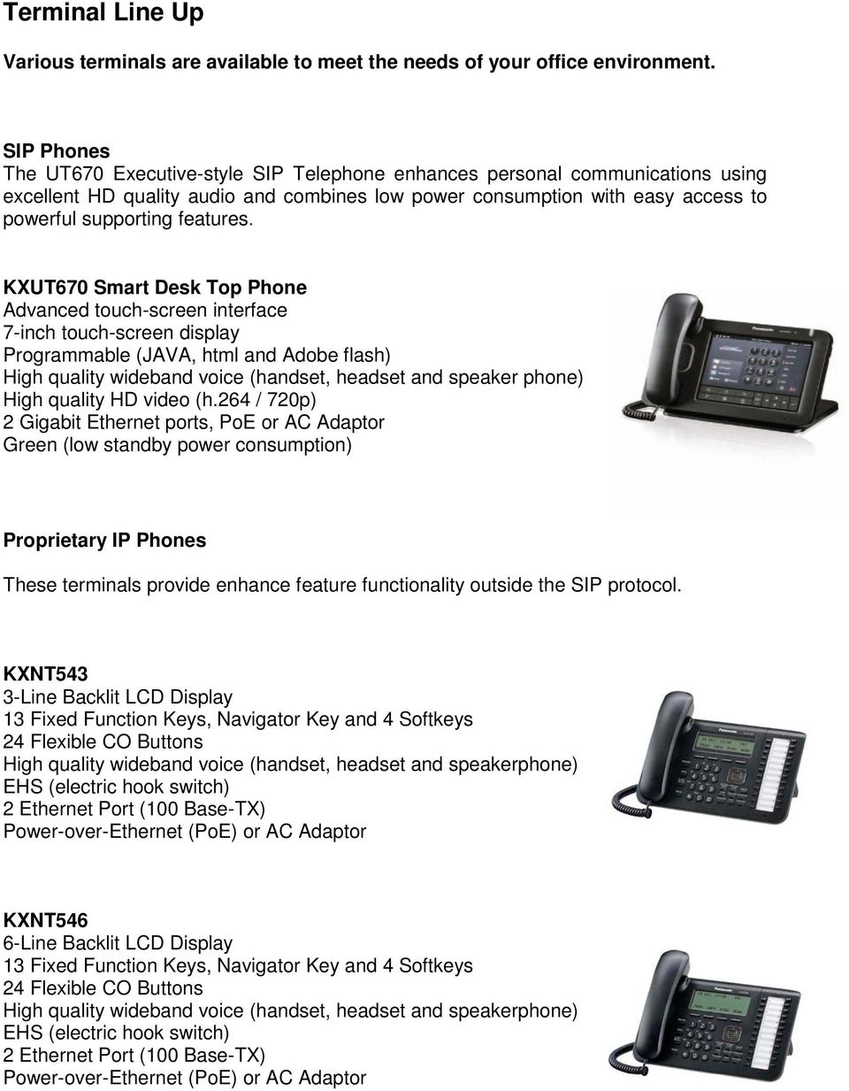Equipment Overview  Overview of the KXNS700 - PDF