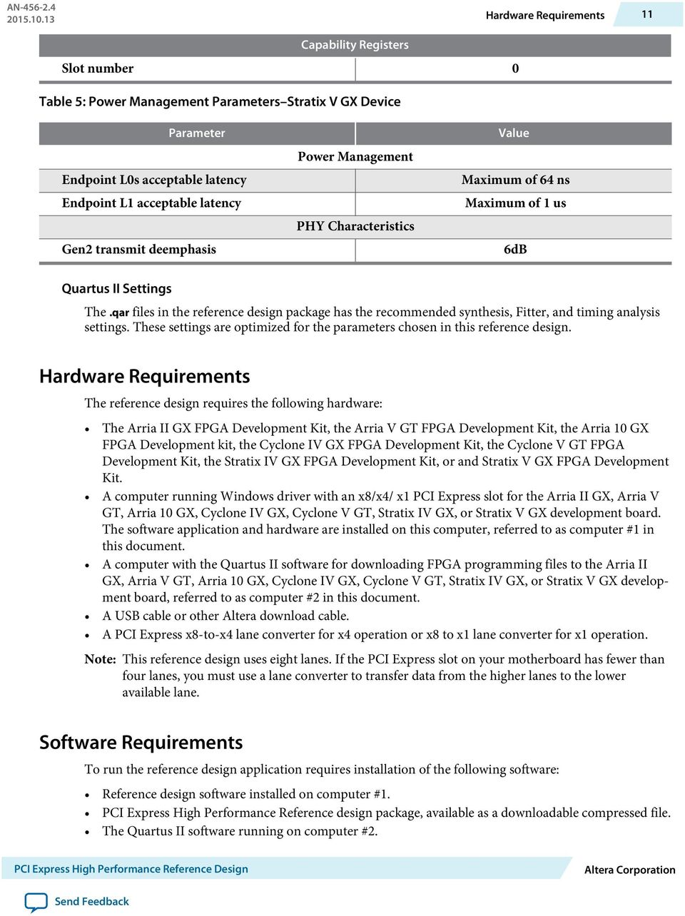 PCI Express High Performance Reference Design - PDF