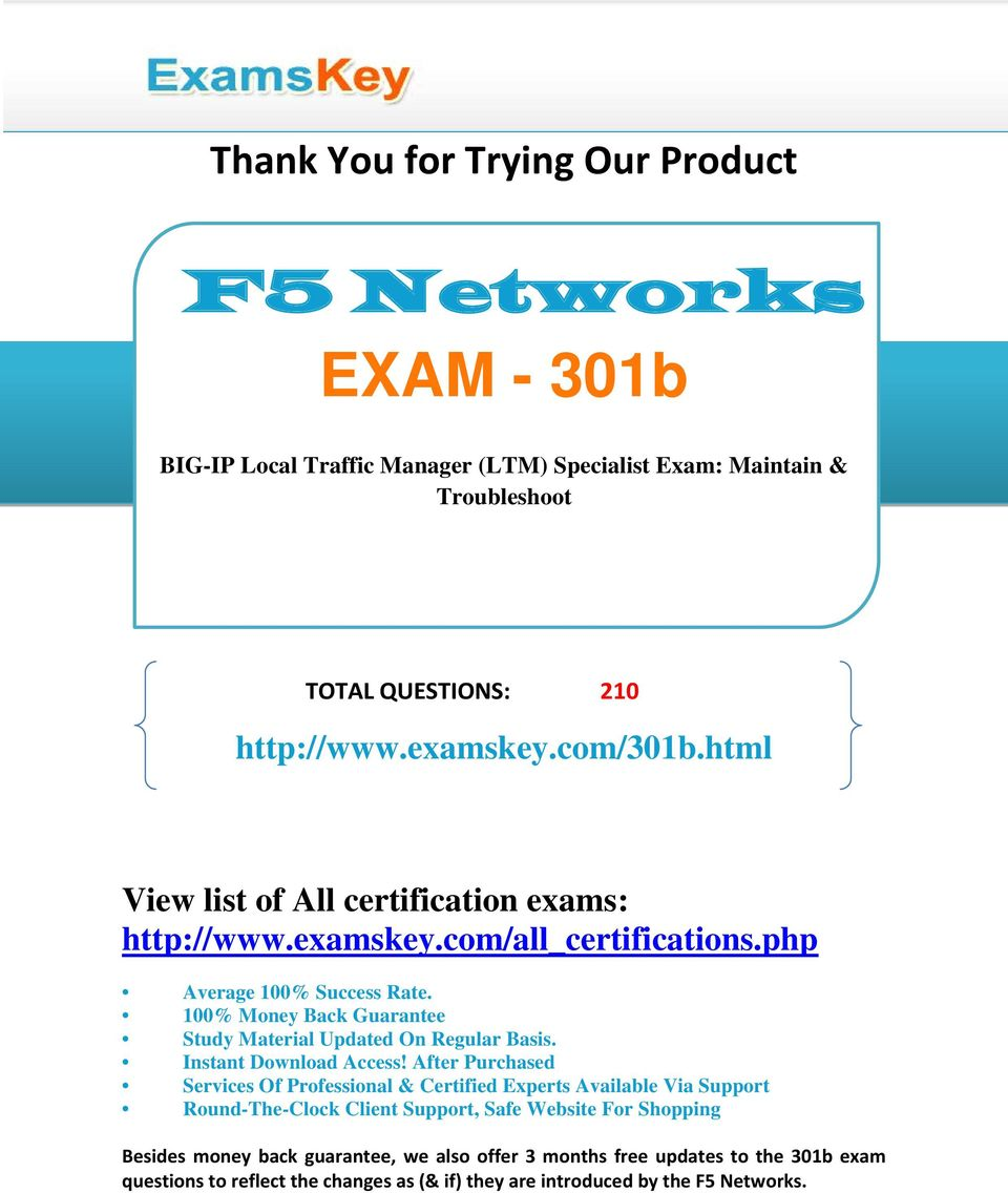F5 Troubleshooting Guide Pdf