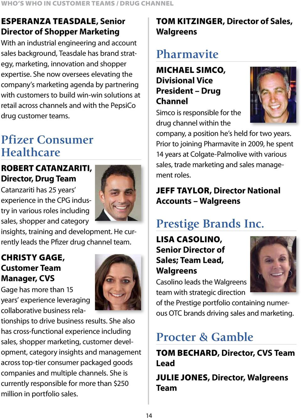 Who s Who in CUSTOMER TEAMS  As seen in - PDF