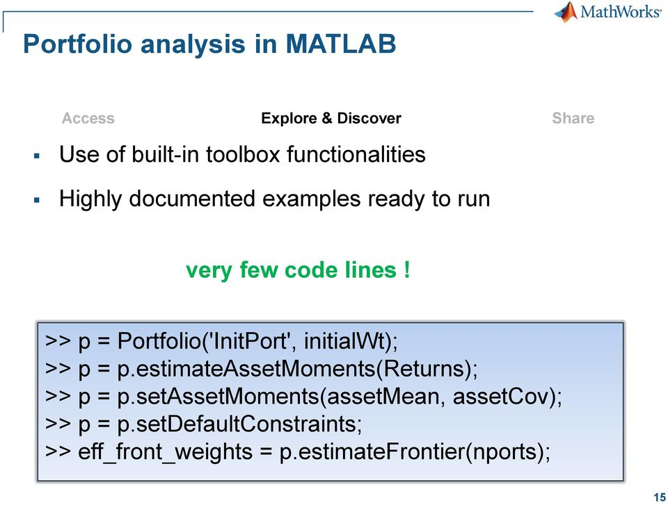 Credit Risk Modeling with MATLAB - PDF