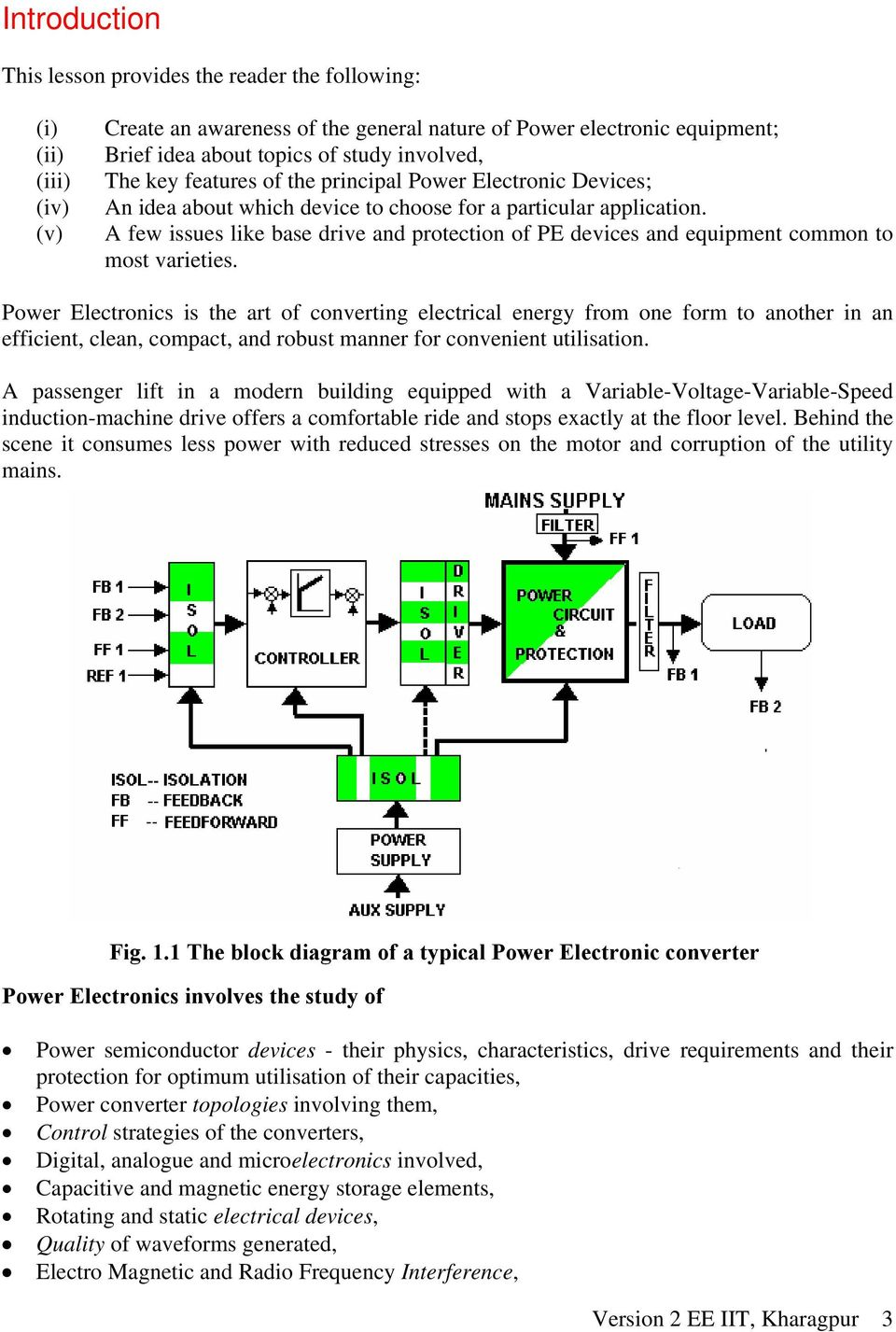 Module 1  Power Semiconductor Devices  Version 2 EE IIT