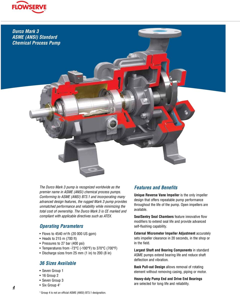 Durco Mark 3 Asme Chemical Process Pump Pdf On To Enlarge The Diagram Operating Principle Of Liquid Ring Pumps Is Ce Marked And Compliant With Applicable Directives Such As Atex