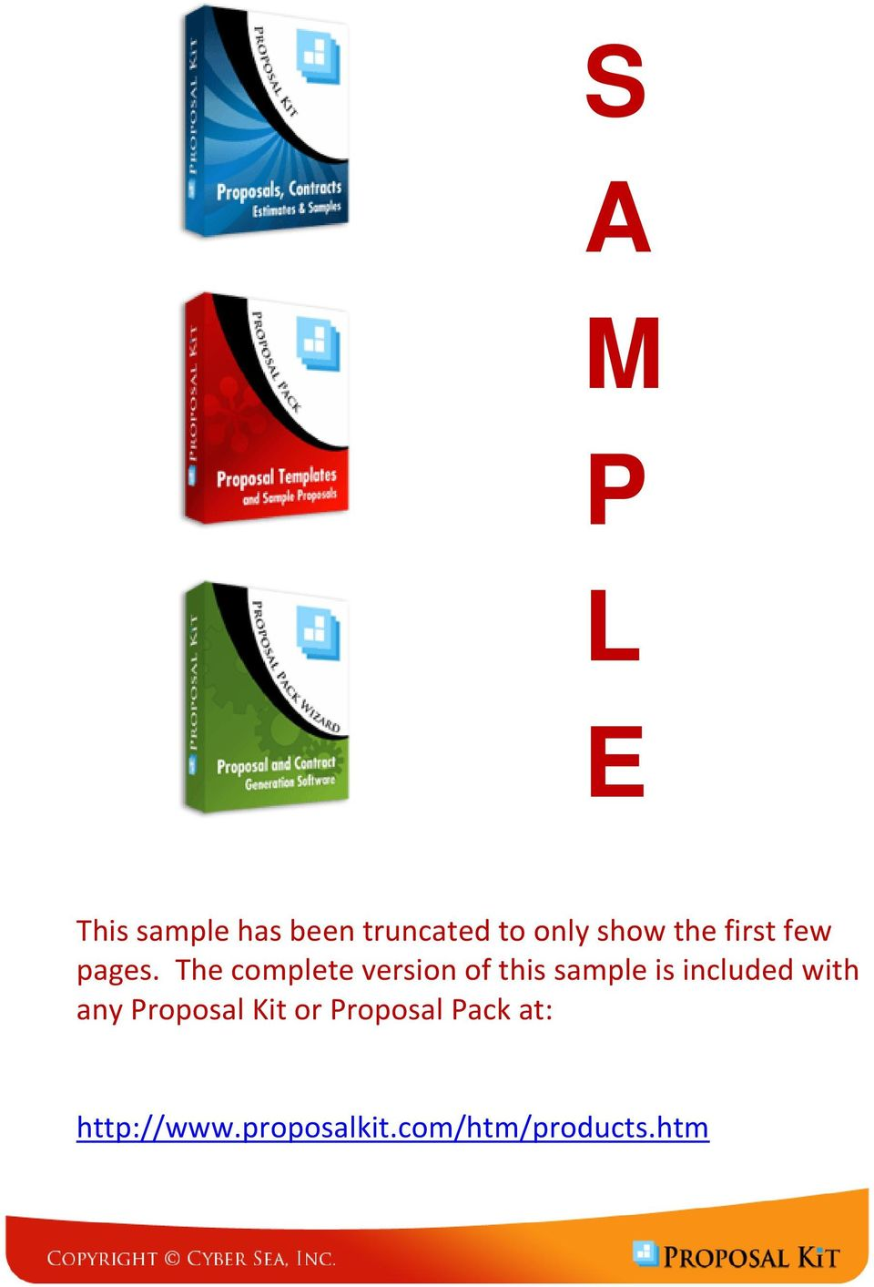 Software And Hardware System Sample Proposal Pdf