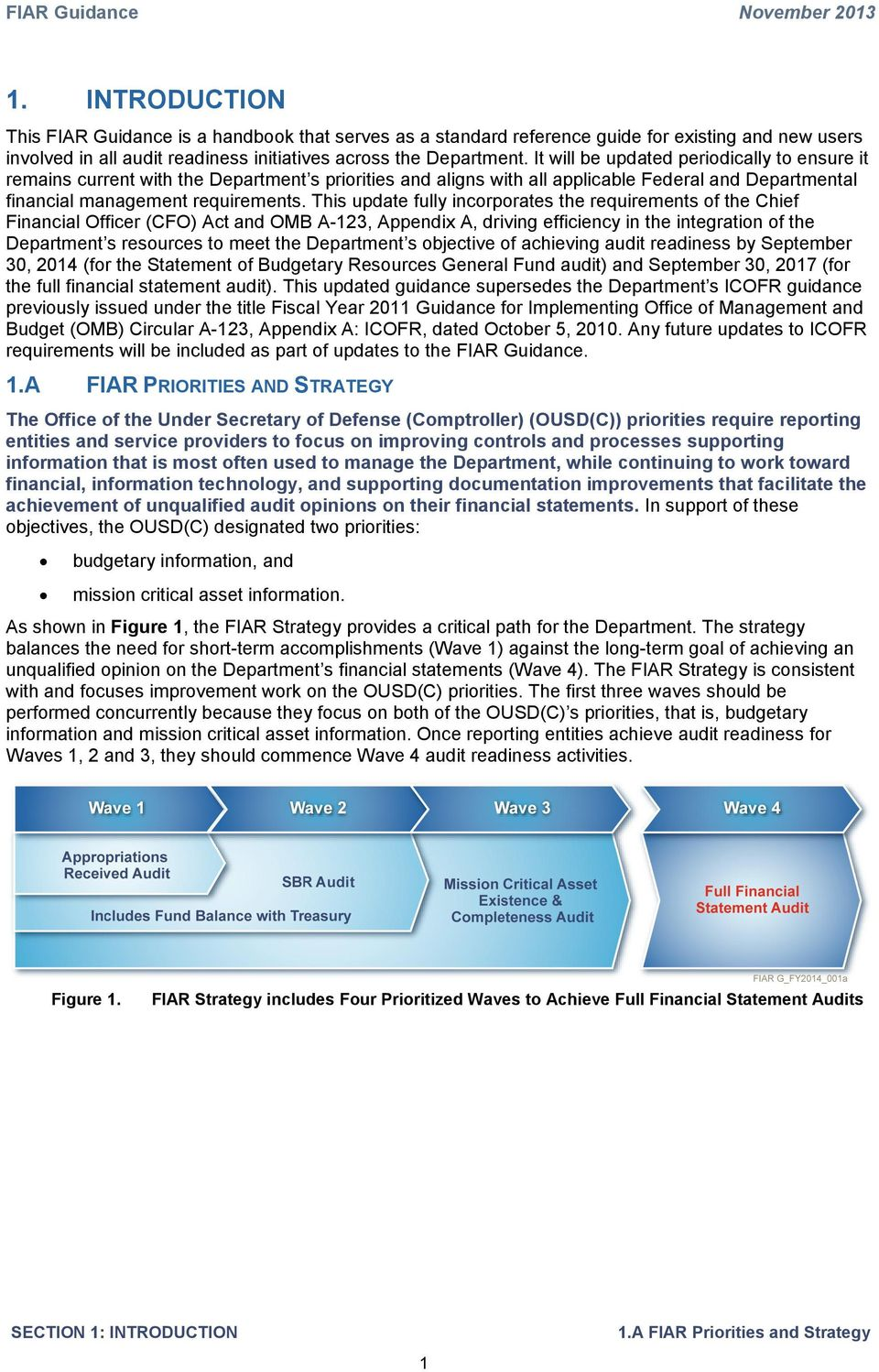 FINANCIAL IMPROVEMENT AND AUDIT READINESS (FIAR) GUIDANCE - PDF