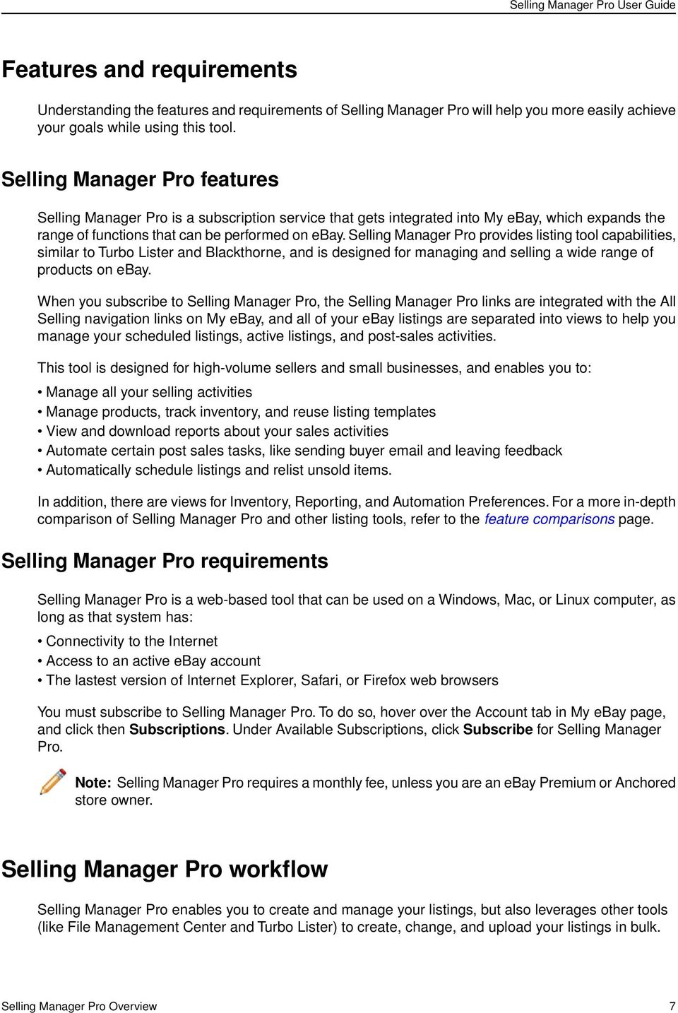 Selling Manager Pro User Guide Pdf Free Download