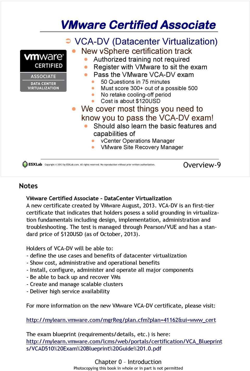 VMware vsphere 5 5 with ESXi and vcenter - PDF
